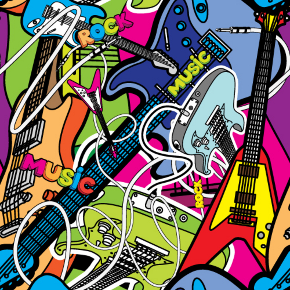 Wonderful Wallpaper Music Graffiti Art - bigstock-Vector-seamless-music-illustra-18426083  Trends_255698.jpg