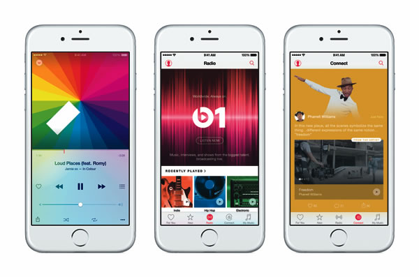 Apple Music iPhones